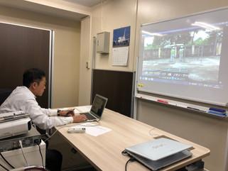 2020/10/27 リモートでの実技試験!!