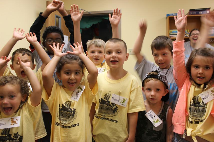 Preschool VBS Fun