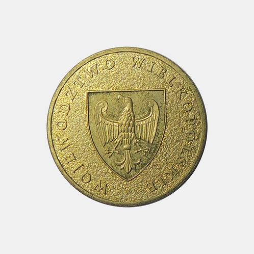 Польша 2 злотых 2005 года. Воеводство Великопольское.