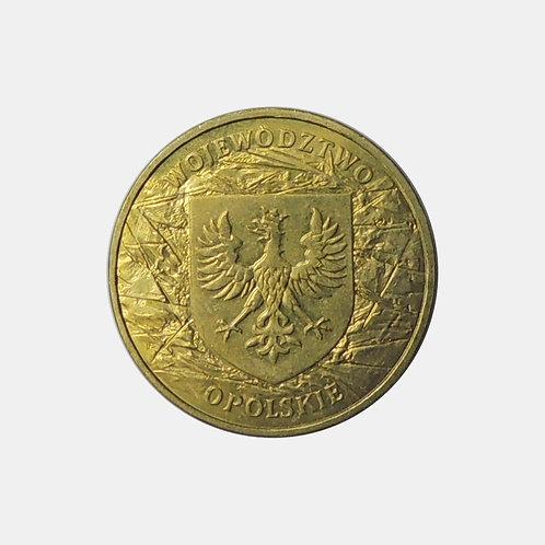 Польша 2 злотых 2004 года. Воеводство Опольское.