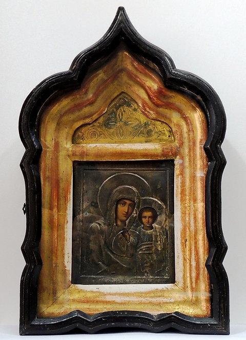 Икона Казанская Пресвятая Богородица. 20 век