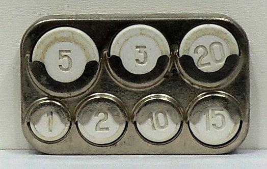 Монетница СССР. Выборг ( серебристая )