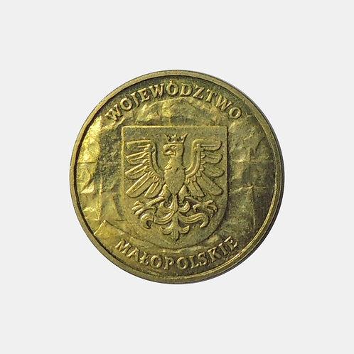 Польша 2 злотых 2004 года. Воеводство Малая Польша.
