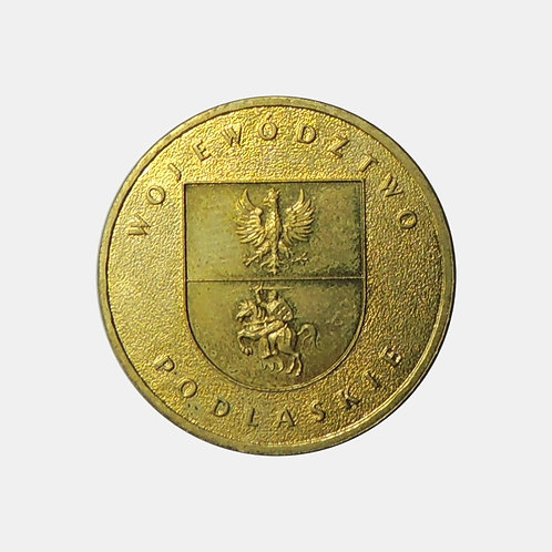 Польша 2 злотых 2004 года. Воеводство Подляское.