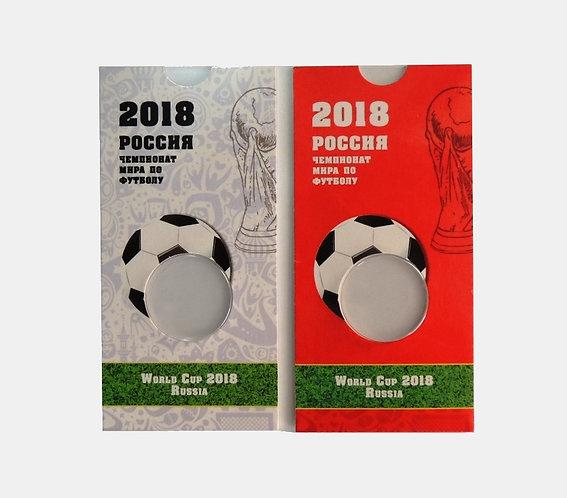 Мини-планшет для монеты 25 рублей «Чемпионат Мира по футболу в России»