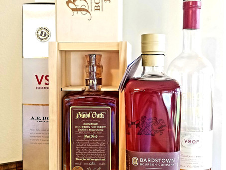 Tasting Notes #2 - Blood Oath Pact 6 & Bardstown Bourbon Company Chateau de Labaude