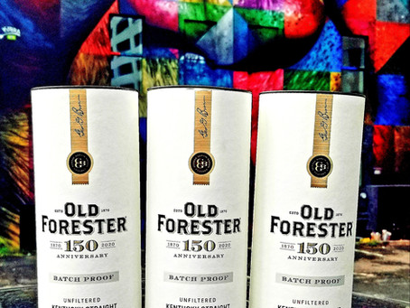 Review #14 - Old Forester 150th Anniversary Batch 01, 02, & 03