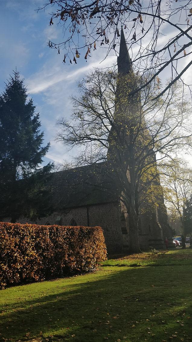 Exterior of St. John's Church Kenilworth
