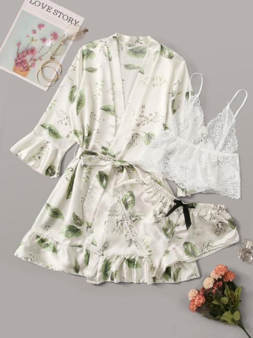 Set Pijama Botánico