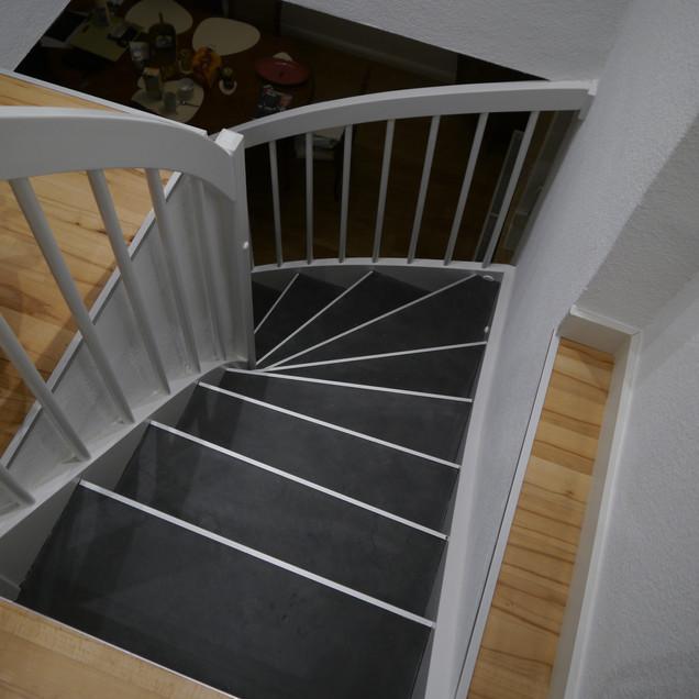 Treppenbelag mit Negro