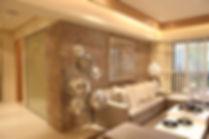 Slate Lite - Wohnzimmer mit Schieferpane