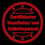 Zertifizierter Verarbeiter von Schieferp