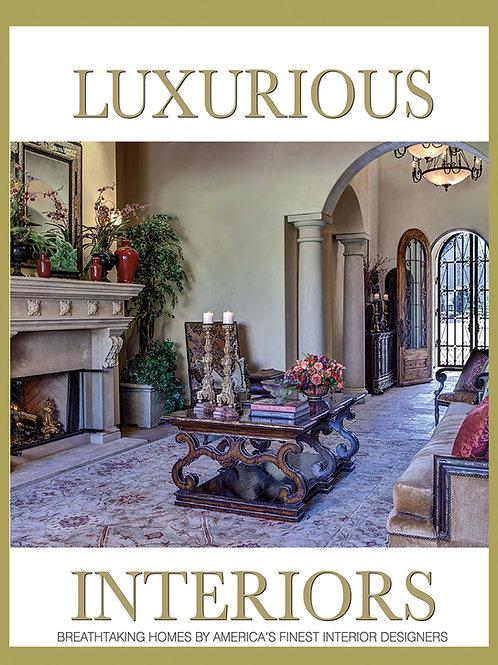 LUXURIOUS INTERIORS BOOK
