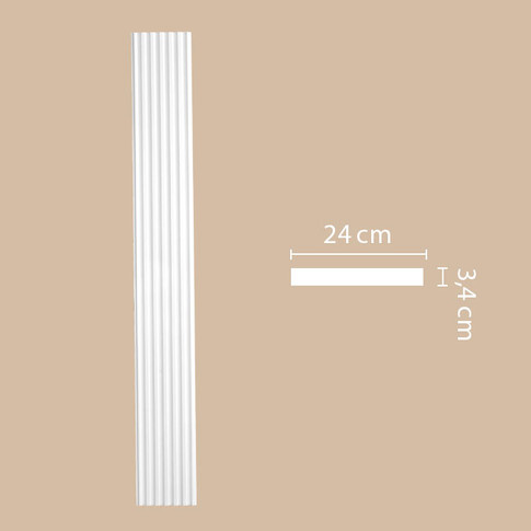 Пилястра 92824 (2400х240х26)
