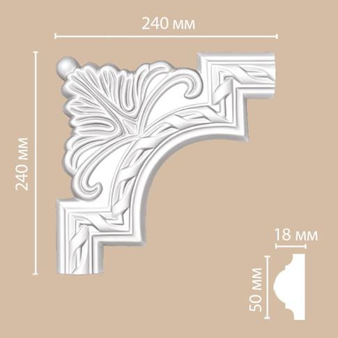 Угол декоративный 98061-1