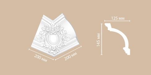 Угол внутренний DP 217R