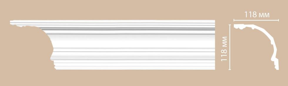 Потолочный плинтус гладкий DP_50