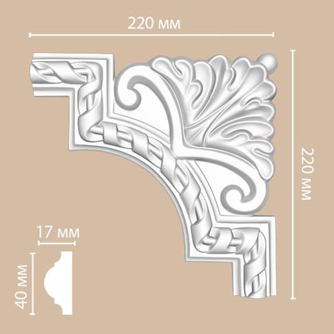 Угол декоративный DP_8050D