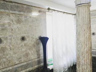Роспись колонны под керамическую плитку