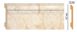 Цветной напольный плинтус D105-80