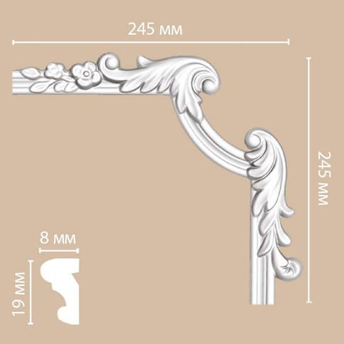 Угол декоративный 97100-3R