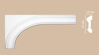 Декоративный элемент для оформления арки 97901-1L (320х650х30)