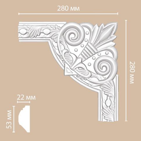 Угол декоративный 98102-1