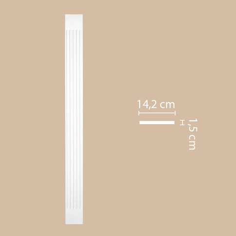 Пилястра DK-82210 (2000х142х15)