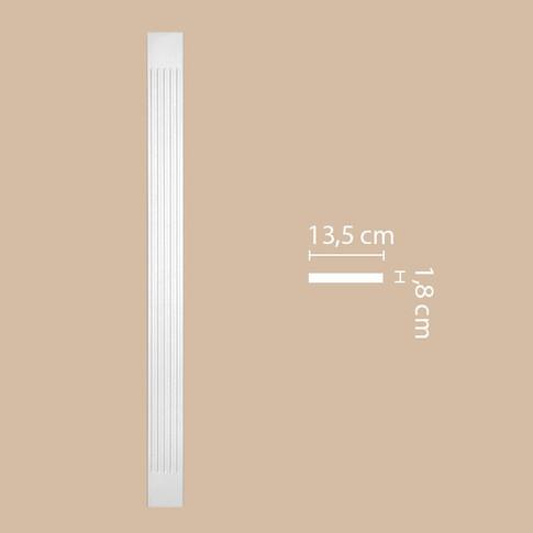 Пилястра DK-82200 (2000х135х18)