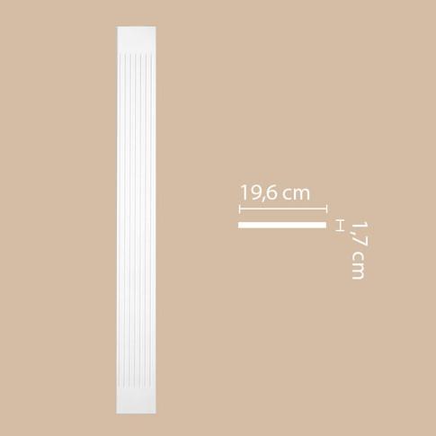 Пилястра DK-82230 (2200х196х17)