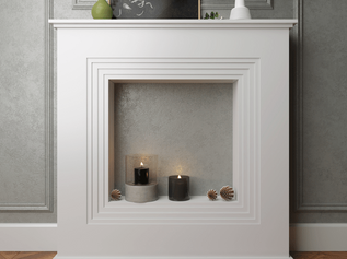 Декоративный камин Ultrawood V5 (1060х1060х215мм) / 1442,0 руб.