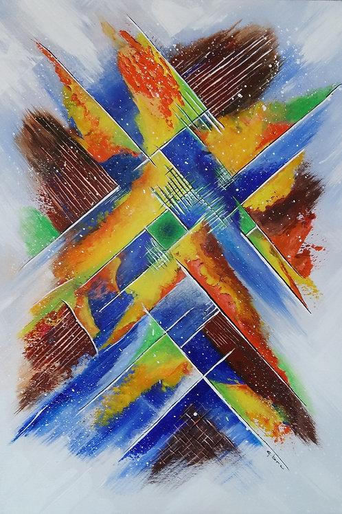 Kaleidoscope-Patrice-Bru-artiste-peintre-abstrait-ooccitanie