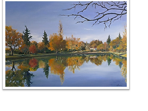 Lac-de-Mauvezin-patrice-Bru-artiste-peintre-figuratif-occitanie
