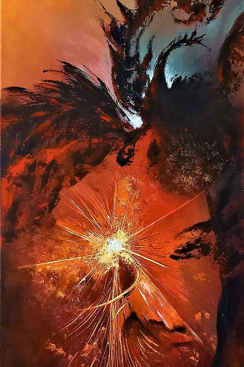 www.patricebrupeintre32.com/abstrait-rouge/artiste-peintre-abstrait-occitanie/Métamorphose