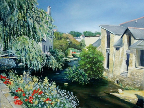 Pont-Aven-2-Patrice-Bru-artiste-peintre-figuratif