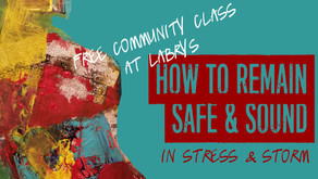 FEB 24 - FREE ENERGY CLASS PERSONAL SAFETY