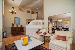 Open Foyer to Living Room