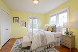 Yellow Bedroom (toward ext + closets)