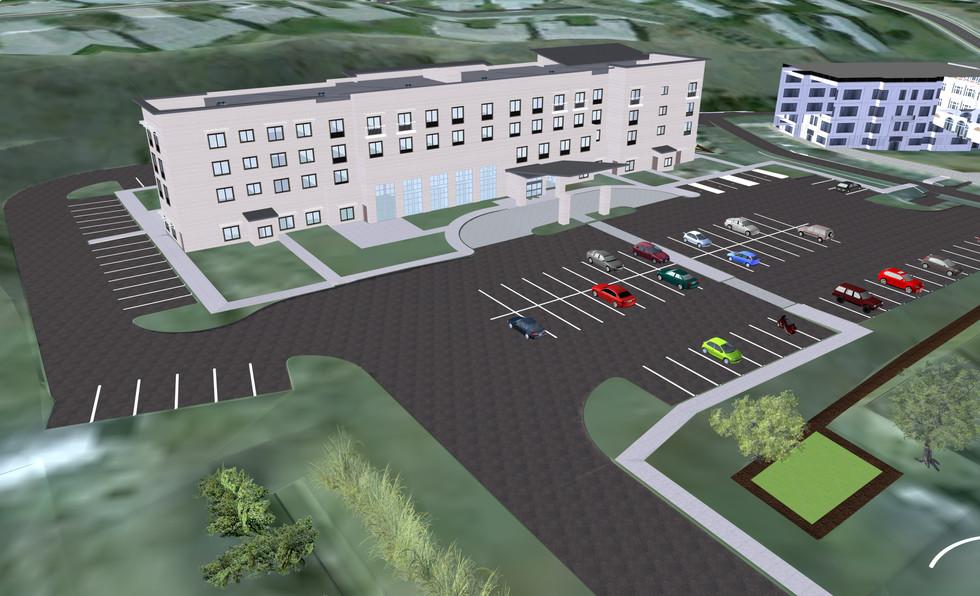 Hampton Inn & Suites Water Hydraulic System