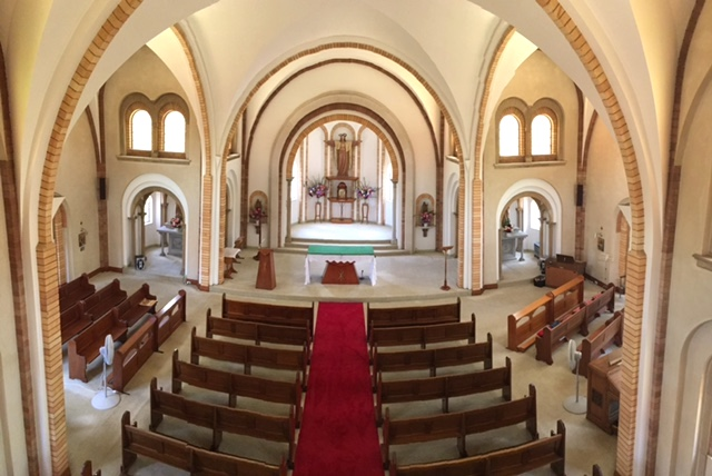 Chapel - inside from choir gallery