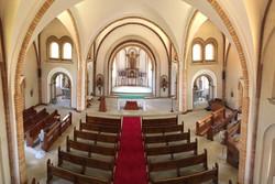 Chapel - inside from choir gallery