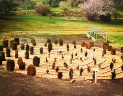 The Labyrinth in our gardens