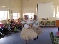 Kiribati sisters