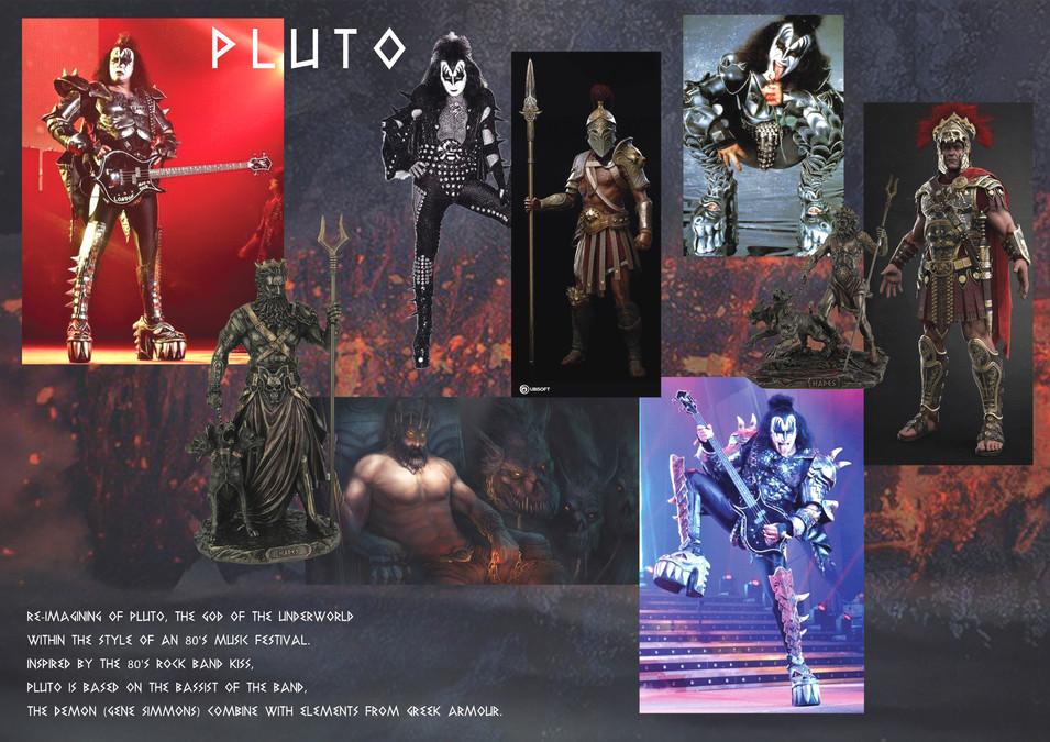 Pluto Mood Board