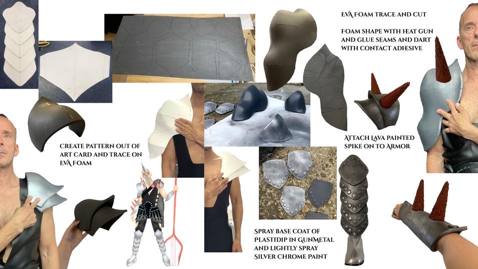 Pluto Costume Process