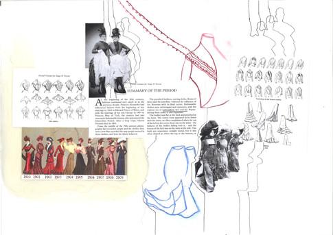 1900 Costume Research