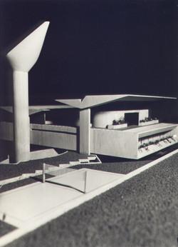 Maquete - Casa Voo Geométrico