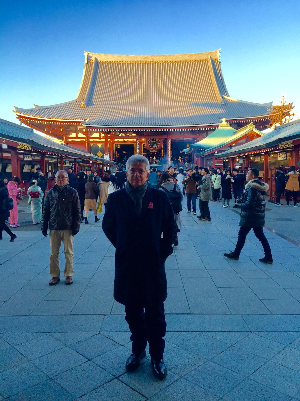 William Abdalla no Japão.