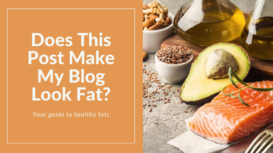 Does This Post Make My Blog Look Fat?