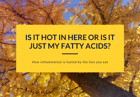Is it Hot in Here or is it Just My Fatty Acids?